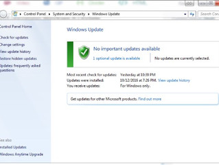 Windows Updates Taking Too Long? Not for us ;)