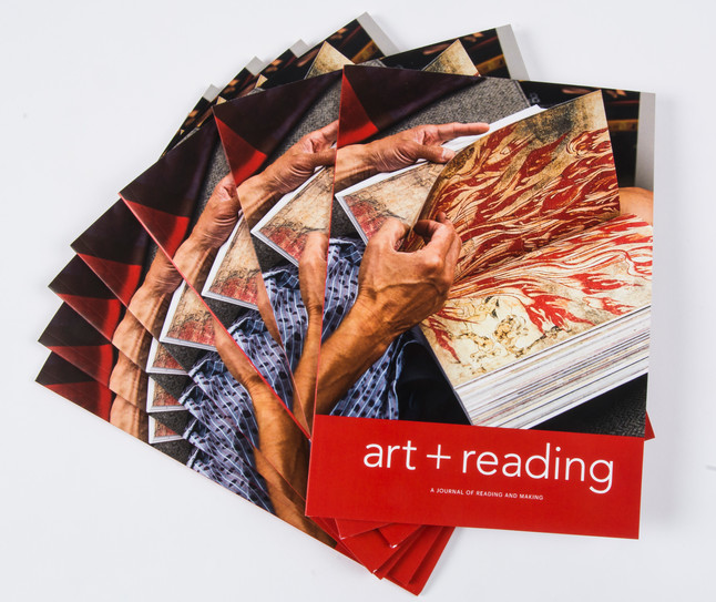 art + reading launch!
