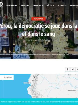 2020/11/18 | La Antígona en LeGlobeur de Francia