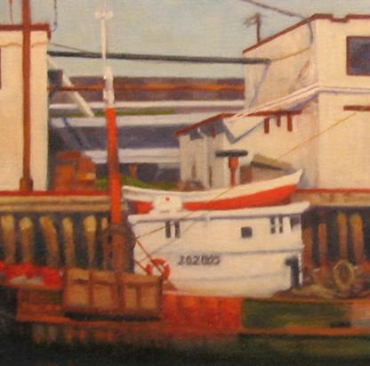 Detail: Trawler, Portland Harbor