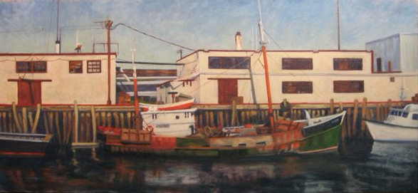 Trawler, Portland Harbor