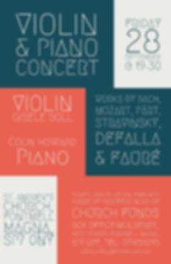 gisele boll colin howard piano violin concert