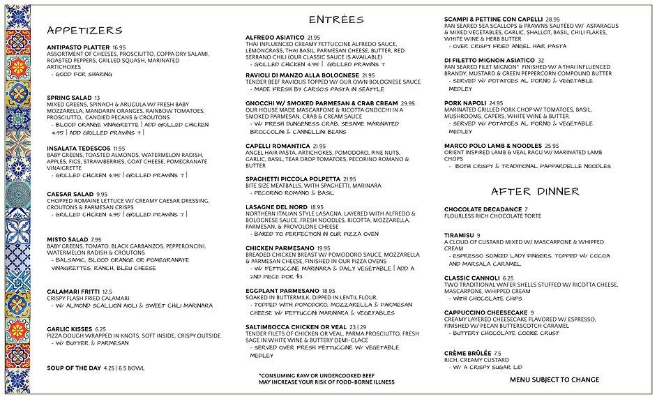 Togo menu