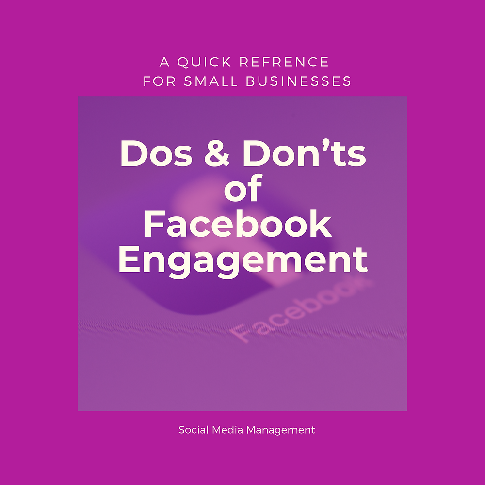 dos and don'ts of facebook engagement