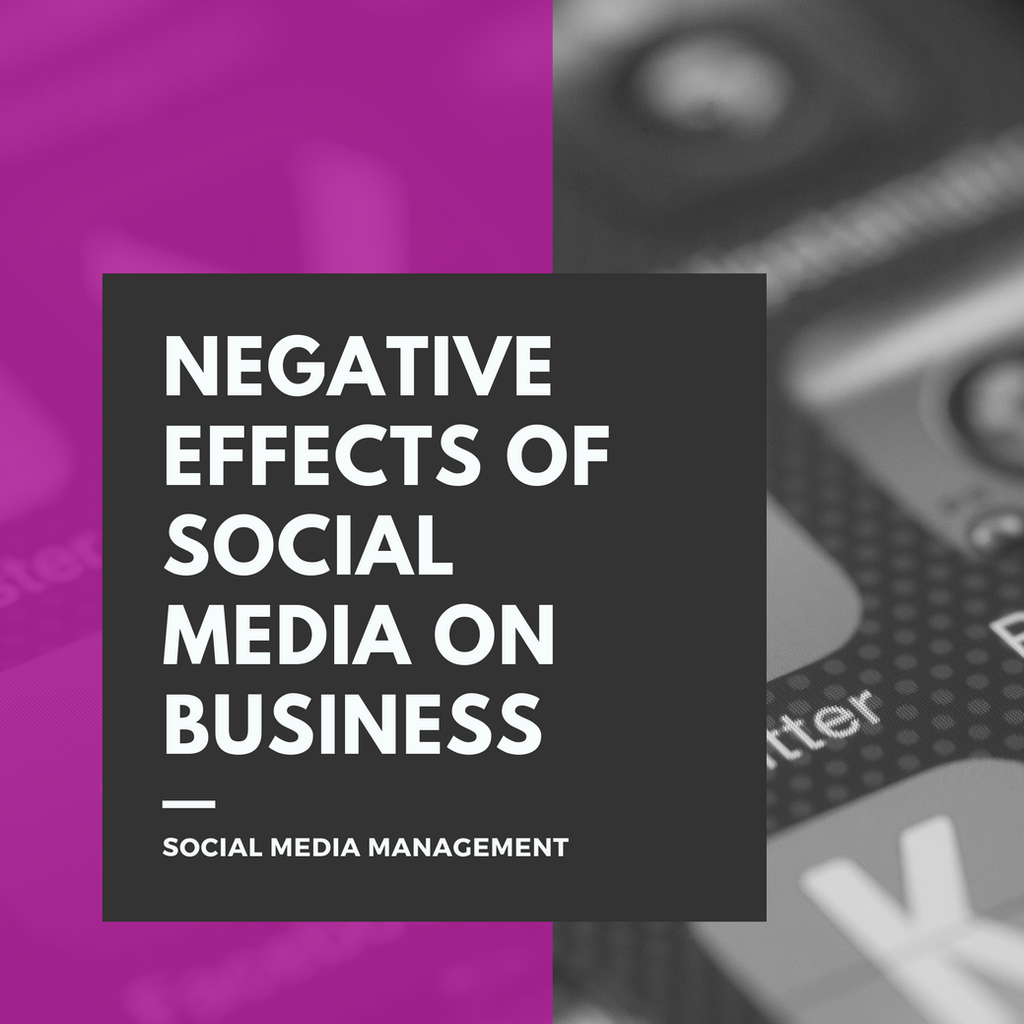 The Negative Effects Of Social Media On Business