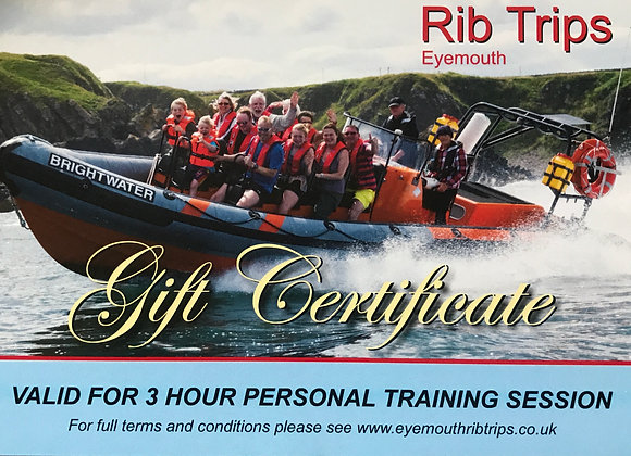 Gift Voucher - 3 hours one to one training
