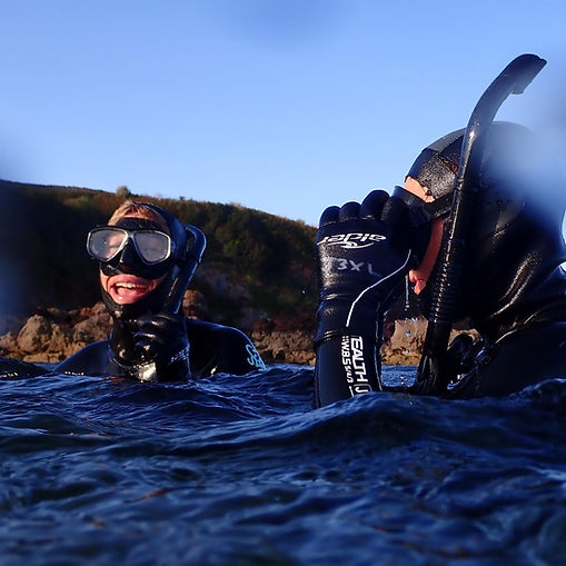 Guided Snorkelling Group