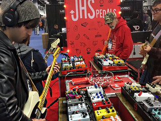 NAMM 2017 and Performance at the Mission Engineering Booth