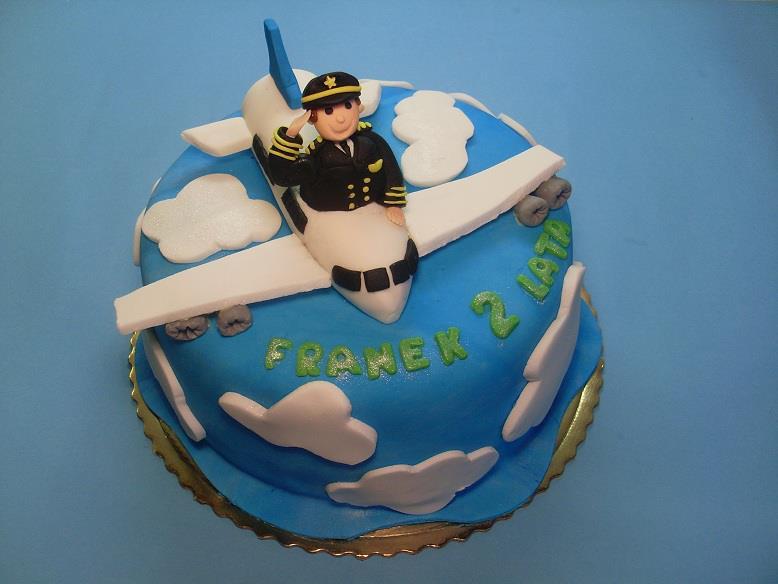 Pilot w samolocie