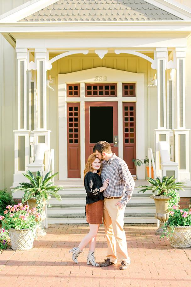 Tyler + Madelyn Engagement at Providence Canyon, GA