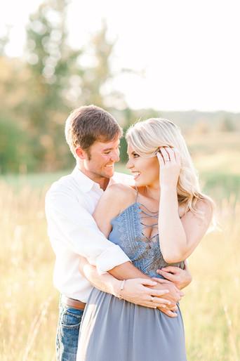 Megan Mullins Photography; Engagement at SpringHouse on Lake Martin, Alabama