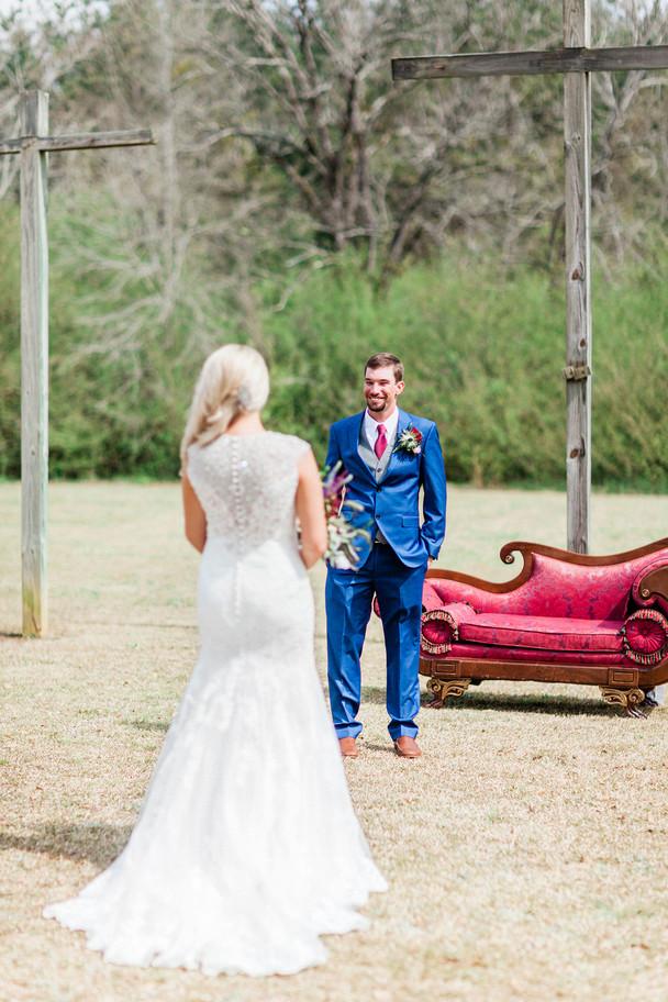 Shabby-Chic Wedding in Alpine, Alabama