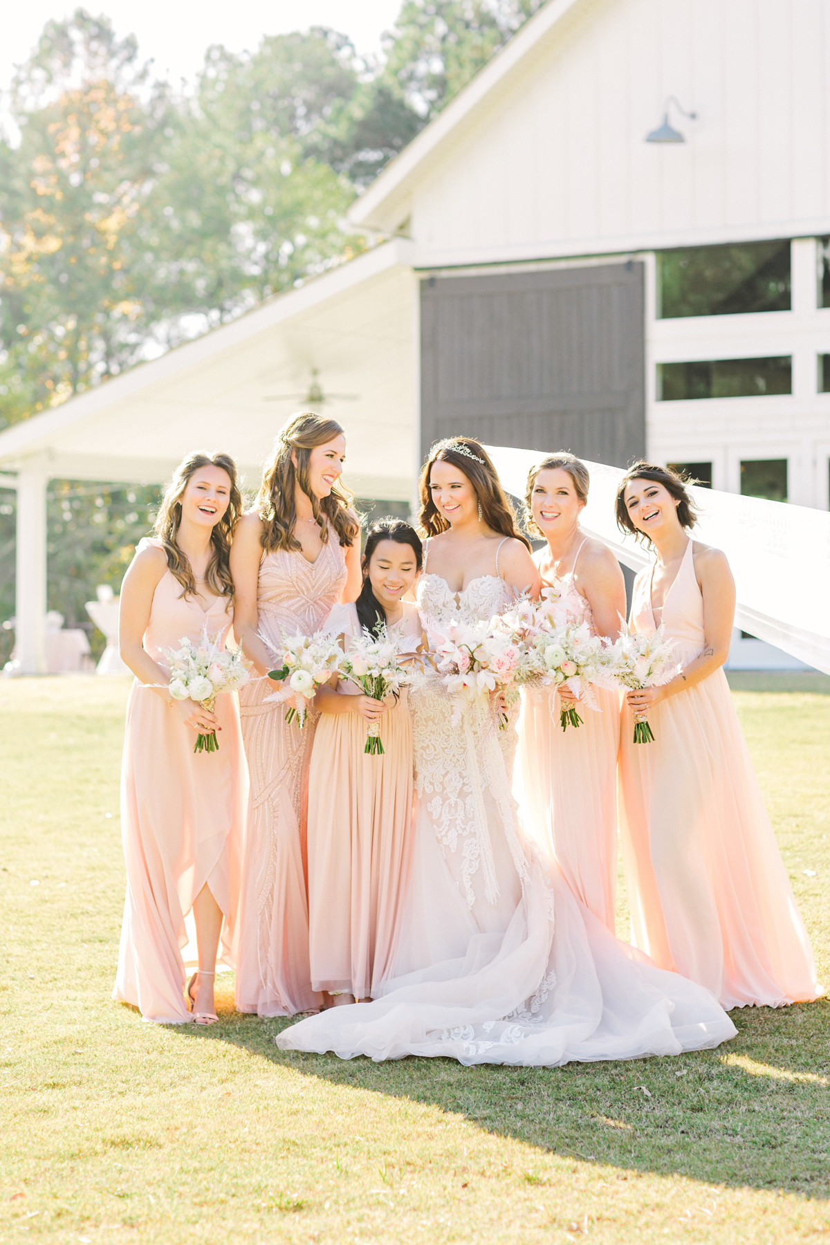 Jesse + Brooke's Southern Chic Wedding at The Venue at Daisy Hill