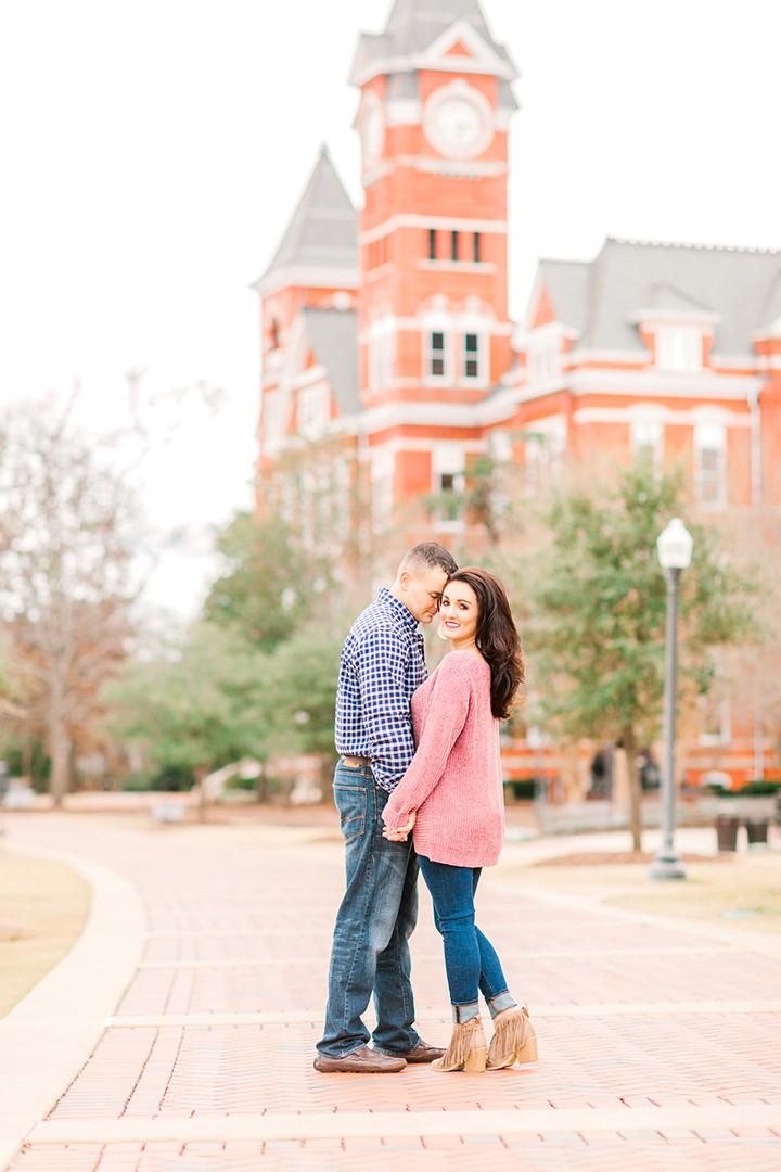 Megan Mullins Photography; Engagement in Auburn, Alabama