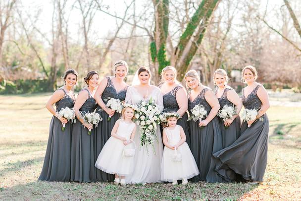 Winter Wedding in Eclectic, Alabama