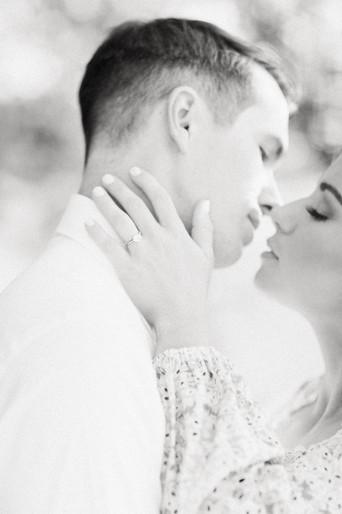 Megan Mullins Photography; Engagement at Kiesel Park in Auburn, Alabama