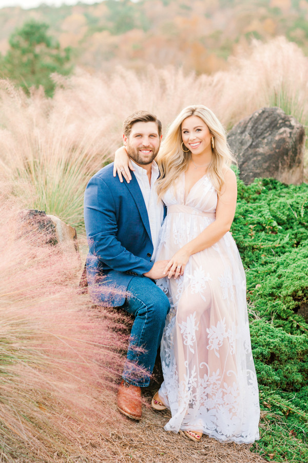 Larry + Madison Engagement at SpringHouse
