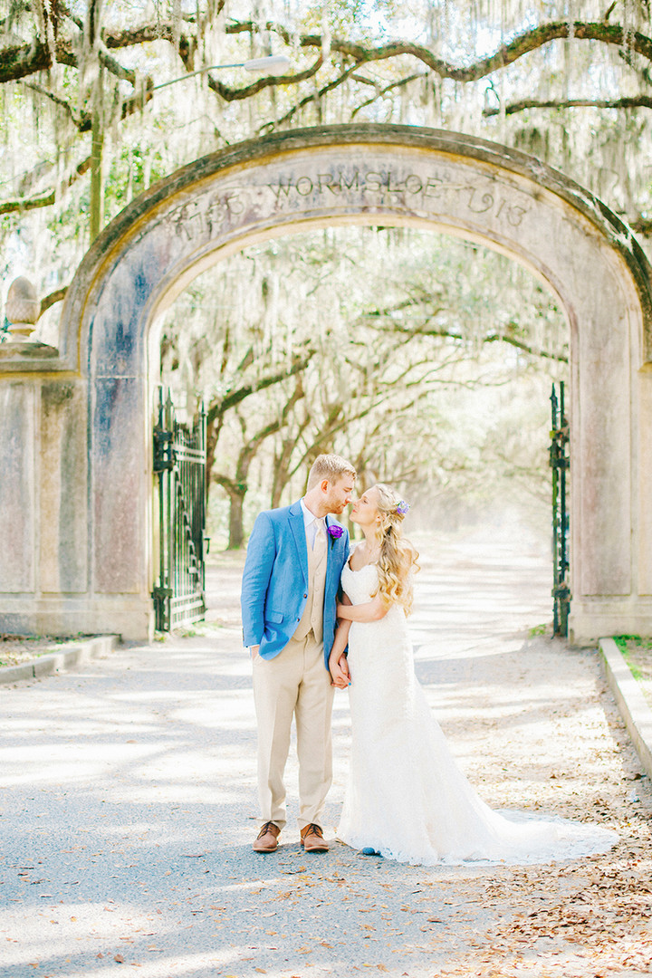 Megan Mullins Photography; Wedding at Wormsloe in Savannah, Georgia