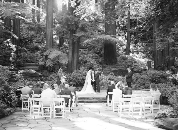 Kyle + Jessica's Fairytale Wedding at Nestldown