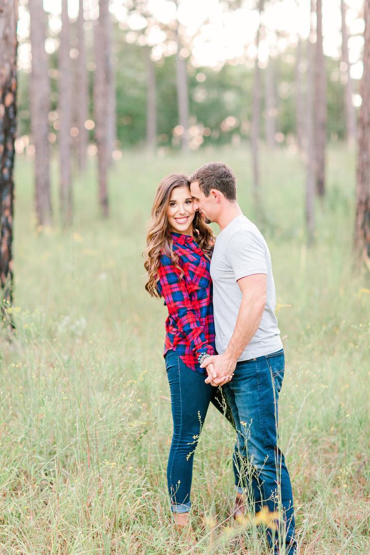 Megan Mullins Photography; Engagement at Lake Martin, Alabama