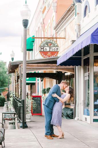 Megan Mullins Photography; Engagement in Opelika, Alabama