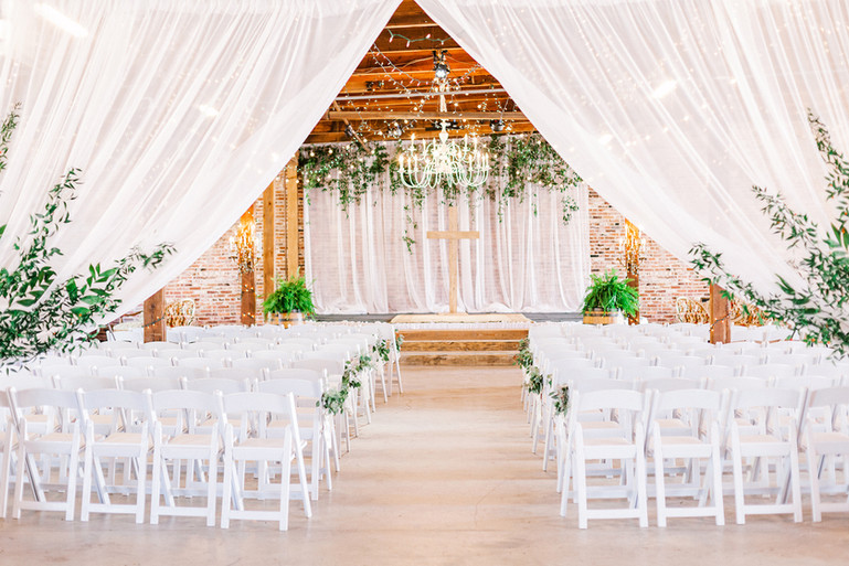 Austin + Lindsey Wedding at The Eclectic Warehouse