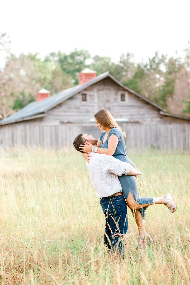 Megan Mullins Photography; Engagement in Alexander City, Alabama