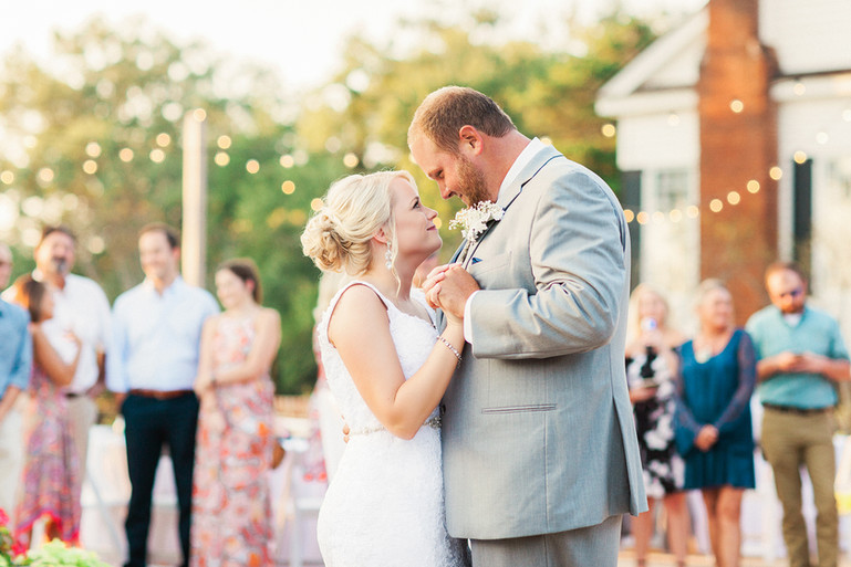 Megan Mullins Photography; Wedding at Pursell Farms in Alabama