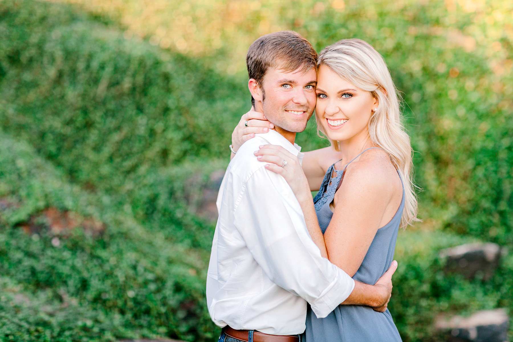 Fall Engagement on Lake Martin, Alabama
