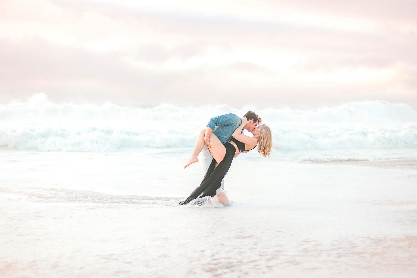 Megan Mullins Photography; Engagement at Big Sur, California