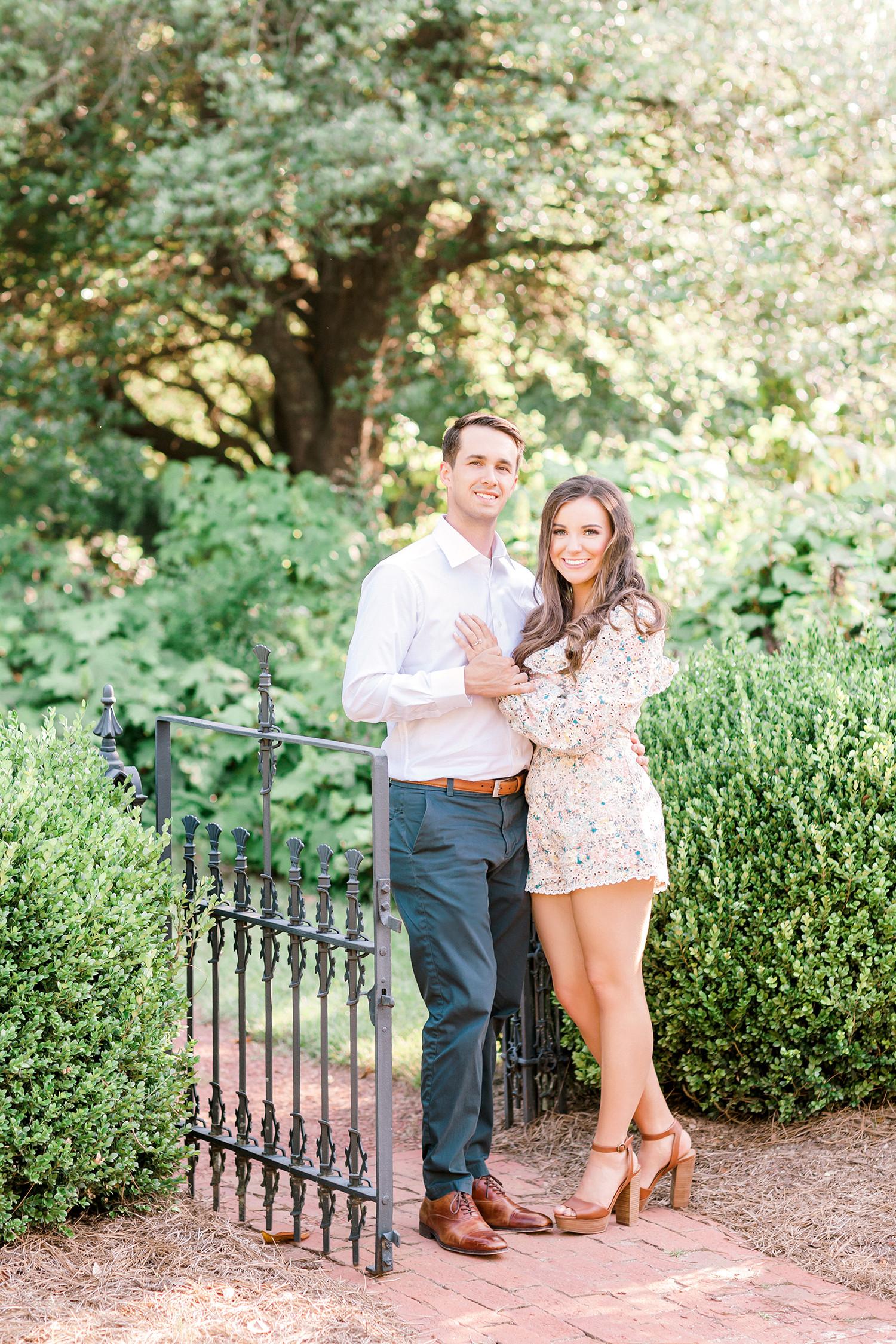 Sawyer + Summer Film Engagement at Kiesel Park in Auburn, Alabama