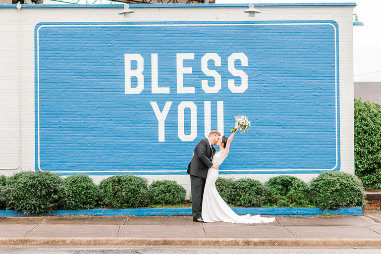 Megan Mullins Photography; Wedding at The Southerly Warehouse in Opelika, Alabama