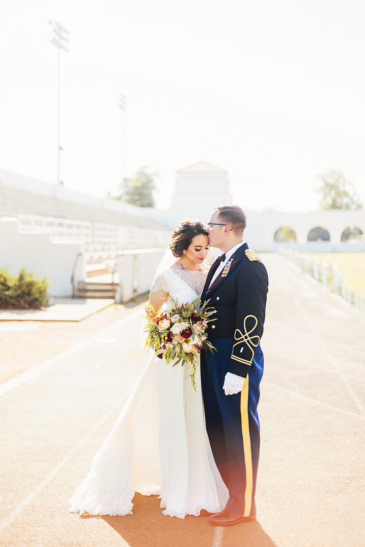Megan Mullins Photography; Wedding at Fort Benning, Georgia