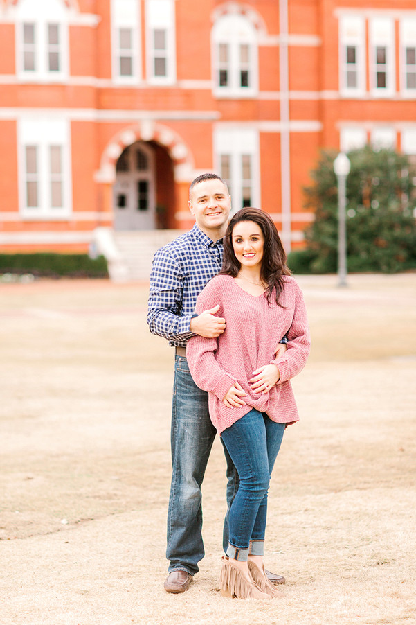 Engagement in Auburn, Alabama