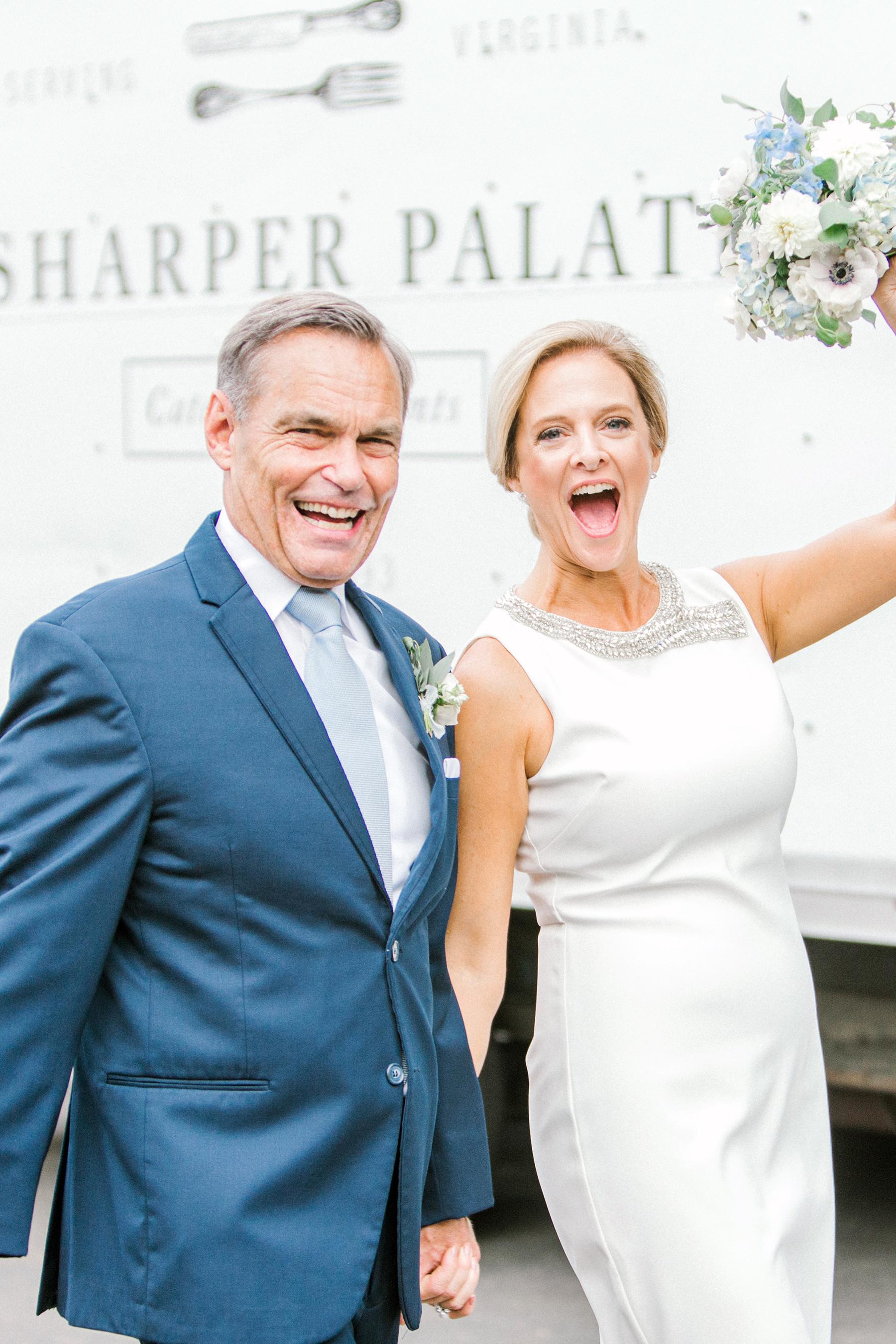 Ray + Sherrie Poolside Wedding in Richmond, Virginia