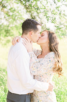 Sawyer + Summer Film Engagement at Kiesel Park in Auburn, Alabama
