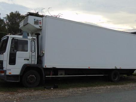 Présentation du camion