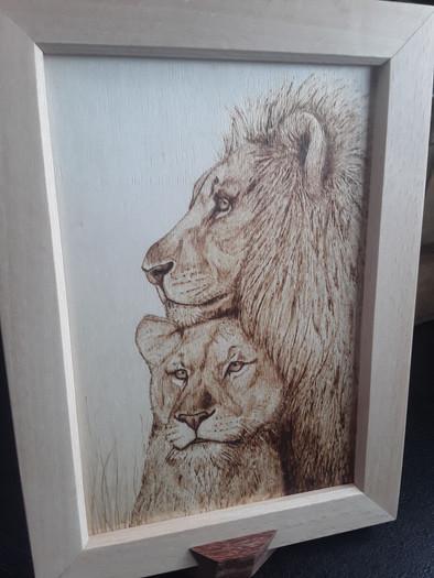 Lion et Lionne
