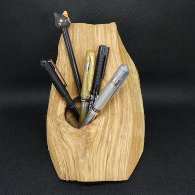 Pot à crayons en chêne