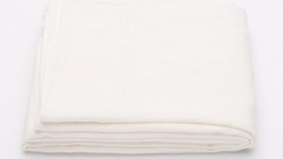 Flat sheet stonewashed linen