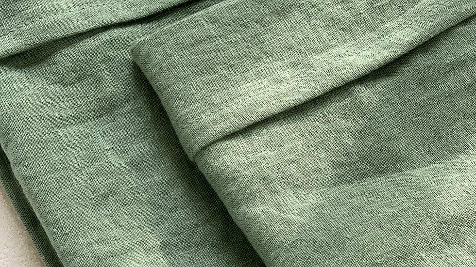 Baby blanket stonewashed linen