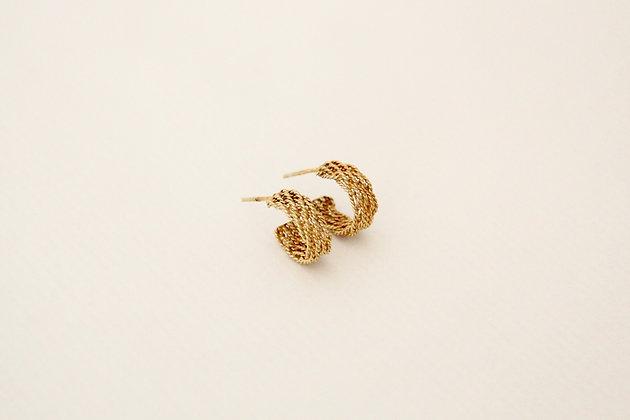 TOU - Earring Gold 2
