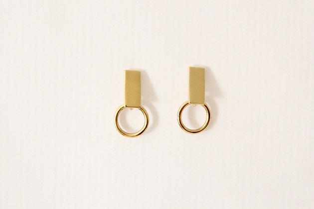 TOU - Earring Gold 3