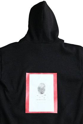 28Laboratory - Hoodie Black/Red