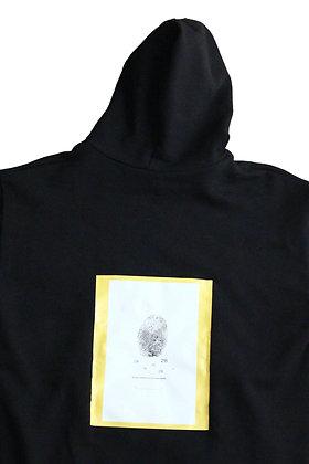 28Laboratory - Hoodie Black/Yellow