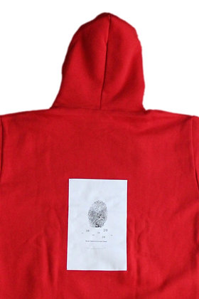 28Laboratory - Hoodie Red