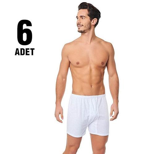 Toptan tutku erkek paçalı arjantin beyaz(6 adet)