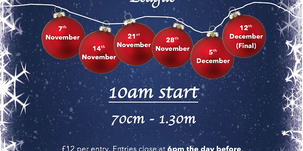 27th December Christmas Show for Horses and Ponies League