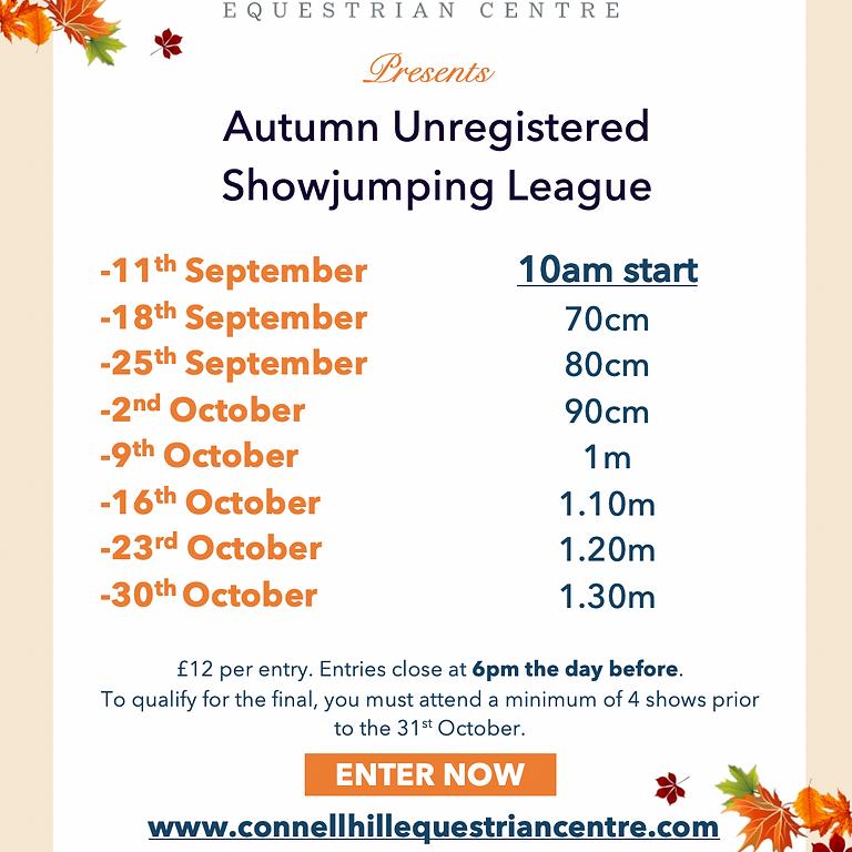 30th  October Unregistered Autumn League
