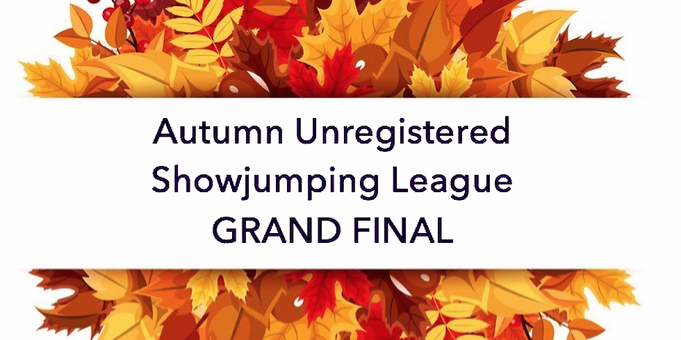 31st October 2020 Autumn Unregistered Horse and Pony Showjumping League